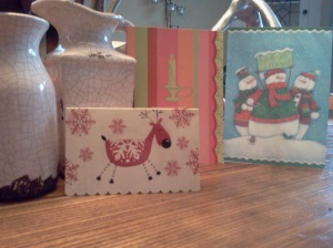 #Recycle #Reuse #Christmascard